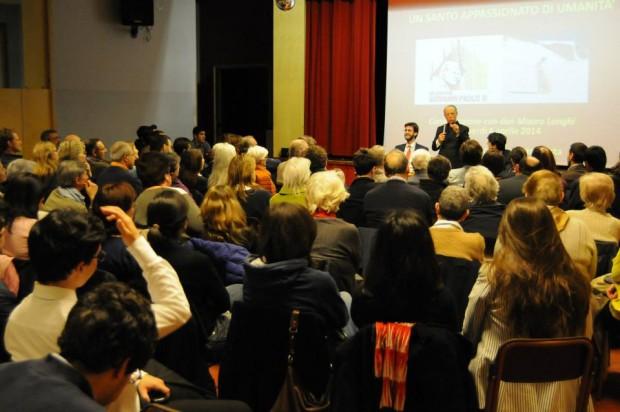 """I giovani di """"Milano per Giovanni Paolo II"""" incontrano don Mauro Longhi"""