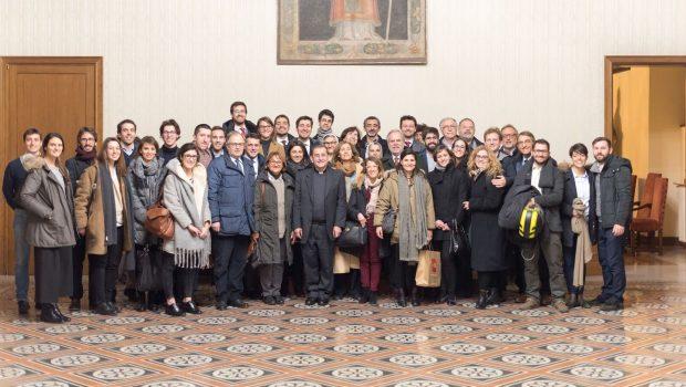 12.02.2018 – Udienza dall'Arcivescovo!