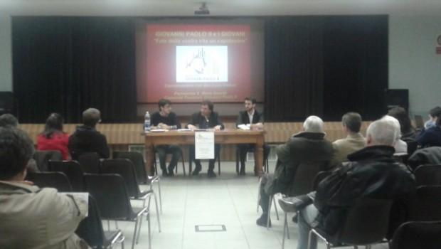 """I giovani di """"Milano per Giovanni Paolo II"""" incontrano Don Luca Violoni"""