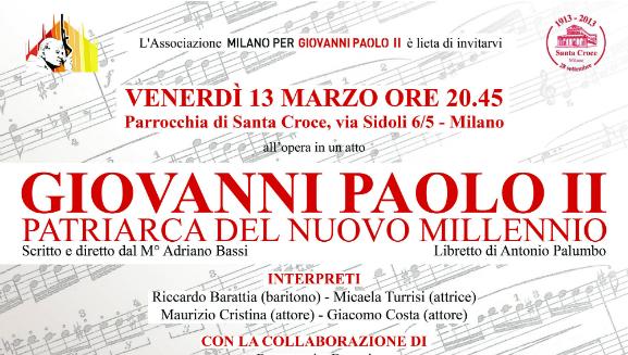 13.03.2015 – Concerto: Giovanni Paolo II, patriarca del nuovo millennio