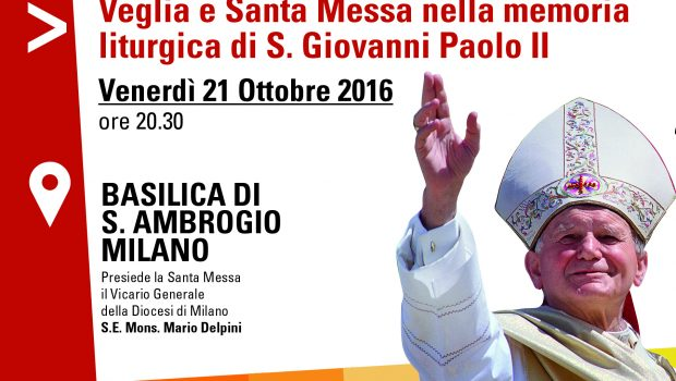 21.10.2016 – Messa nella terza memoria liturgica di S. Giovanni Paolo II